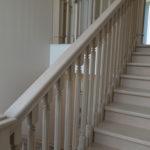 лестница с резьбой