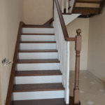 Комбинированная лестница поселок родной
